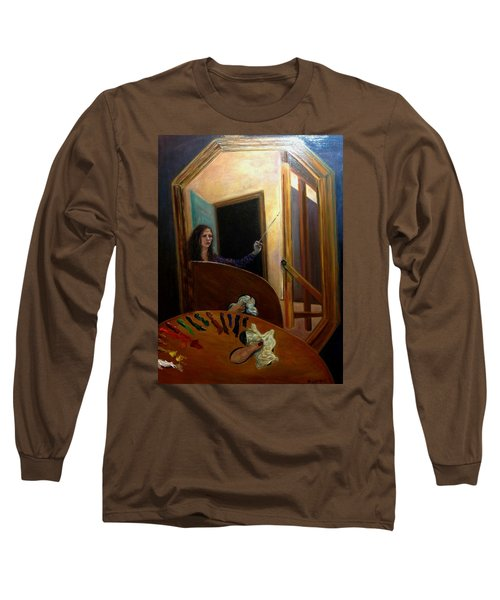 Portrait Of The Artist Long Sleeve T-Shirt