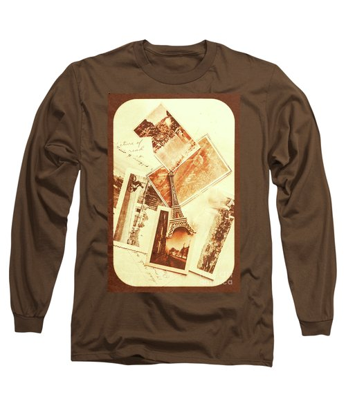 Postcards And Letters From The City Of Love Long Sleeve T-Shirt