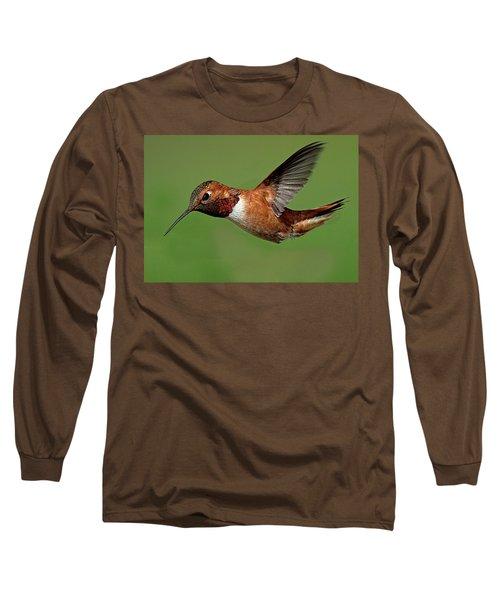 Potrait Long Sleeve T-Shirt by Sheldon Bilsker