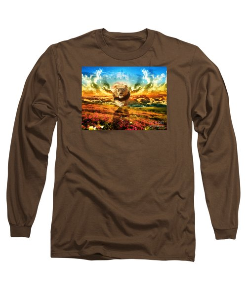 Power And Glory Long Sleeve T-Shirt by Dolores Develde