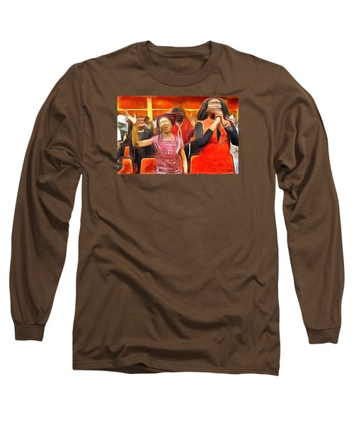 Long Sleeve T-Shirt featuring the painting Praise And Glory by Wayne Pascall