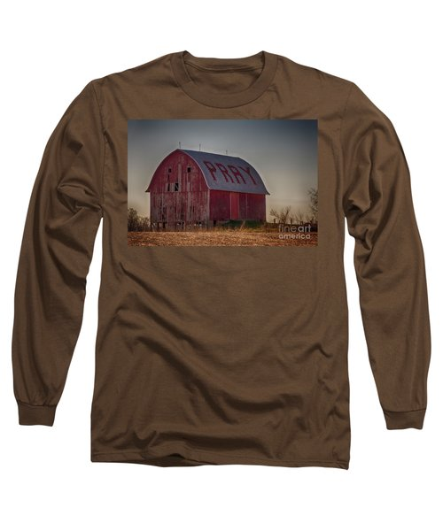 Long Sleeve T-Shirt featuring the photograph Pray by JRP Photography