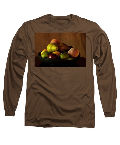Long Sleeve T-Shirt featuring the photograph Precious Fruit Bowl by Sherry Hallemeier