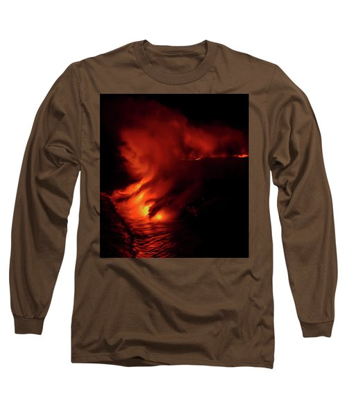 Predawn Pouroff Long Sleeve T-Shirt by Allen Biedrzycki