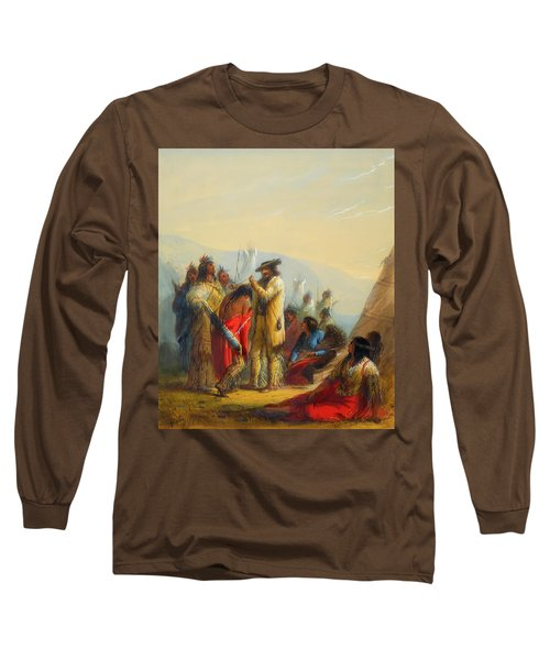 Present To Indians Long Sleeve T-Shirt