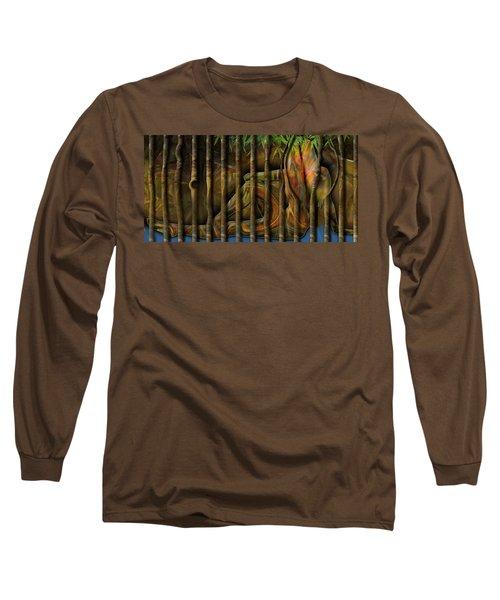 Pretty As Prison Long Sleeve T-Shirt