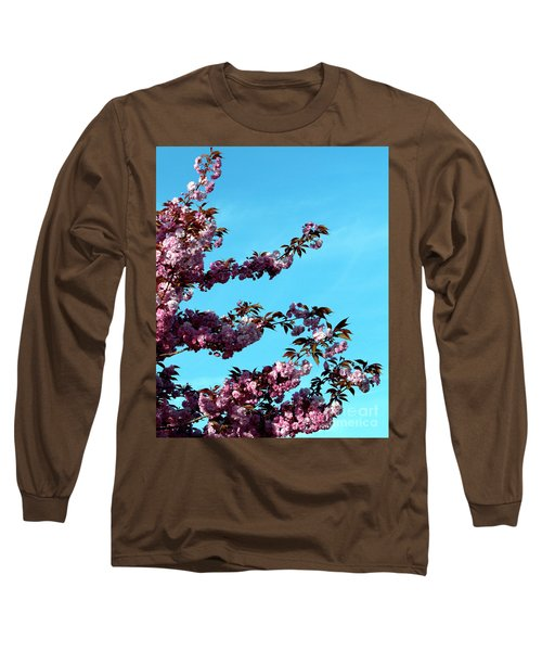 Long Sleeve T-Shirt featuring the photograph Pretty In Pink by Stephen Melia