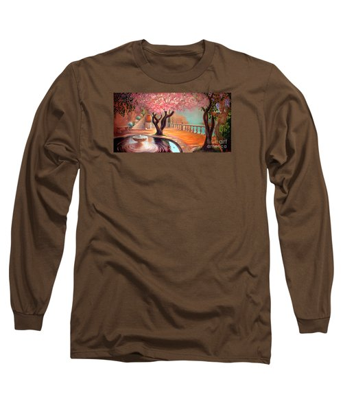 Long Sleeve T-Shirt featuring the painting Primavera by Michael Rock