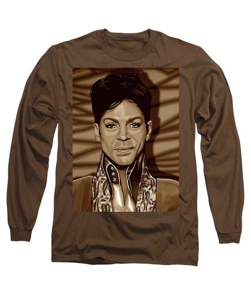 Prince 2 Gold Long Sleeve T-Shirt
