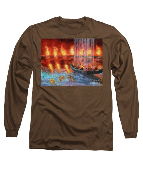Prophetic Message Sketch 45 Preparing For The Day Long Sleeve T-Shirt