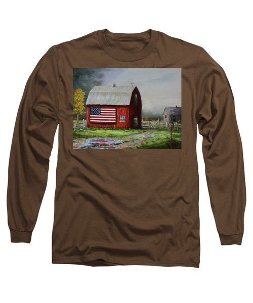 Proud To Be A Puddle Long Sleeve T-Shirt