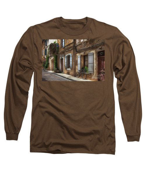 Provence Street Scene Long Sleeve T-Shirt