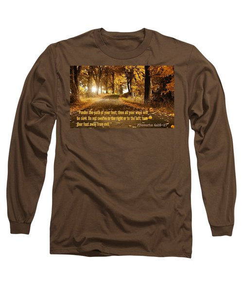Proverbs104 Long Sleeve T-Shirt