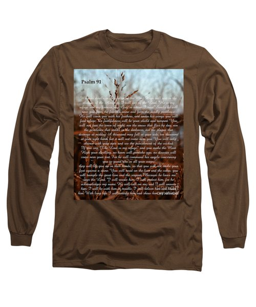 Psalm 91 Long Sleeve T-Shirt