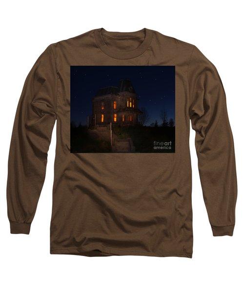 Psycho House-bates Motel Long Sleeve T-Shirt
