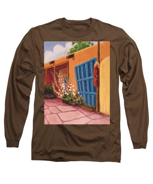 Puerta Azul En Taos Long Sleeve T-Shirt