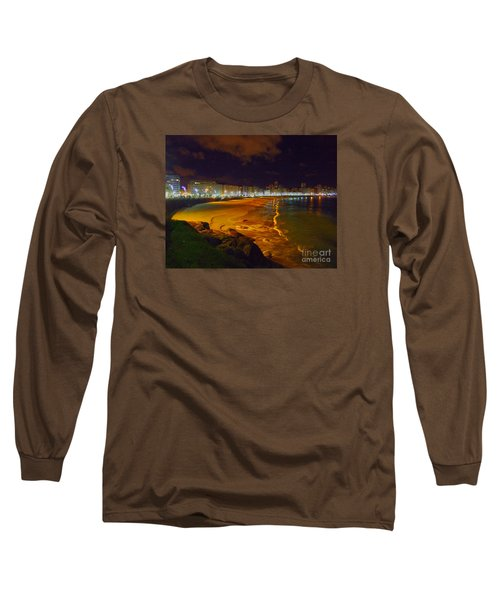 Puerto Rico Beach Long Sleeve T-Shirt by Andrew Middleton