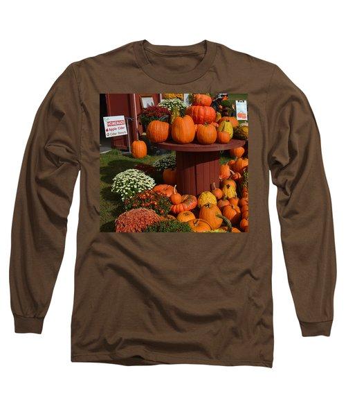 Pumpkin Display Long Sleeve T-Shirt