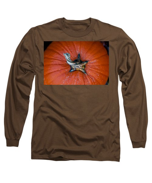 Pumpkin Stalk Long Sleeve T-Shirt
