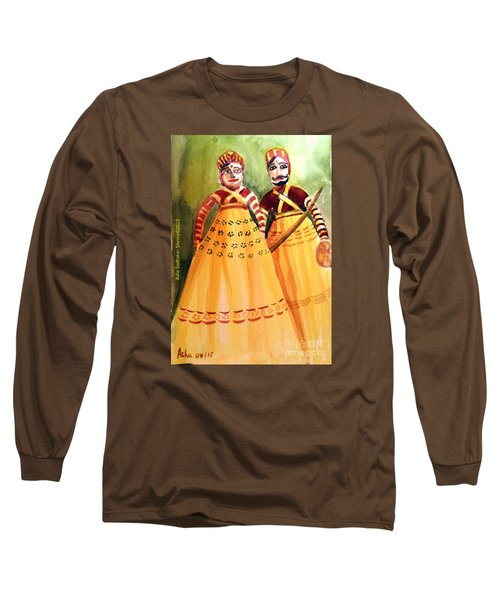 Puppets Of India Long Sleeve T-Shirt