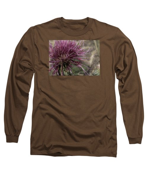 Purple Flower 2 Long Sleeve T-Shirt