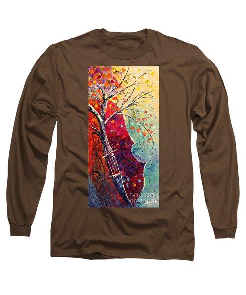 Purple Symphony Long Sleeve T-Shirt