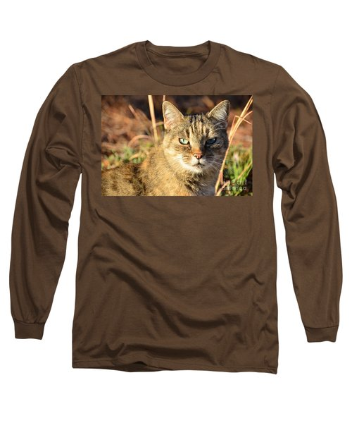 Purr-fect Kitty Cat Friend Long Sleeve T-Shirt