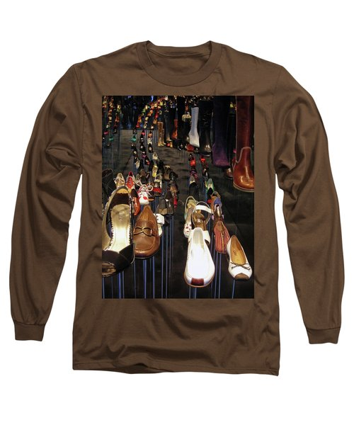 Put Your Shoes ... Long Sleeve T-Shirt
