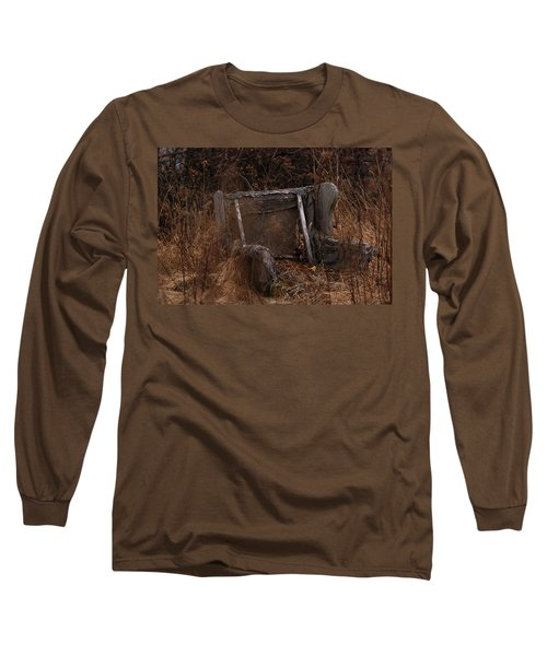 Putting Down Roots Long Sleeve T-Shirt by Susan Capuano