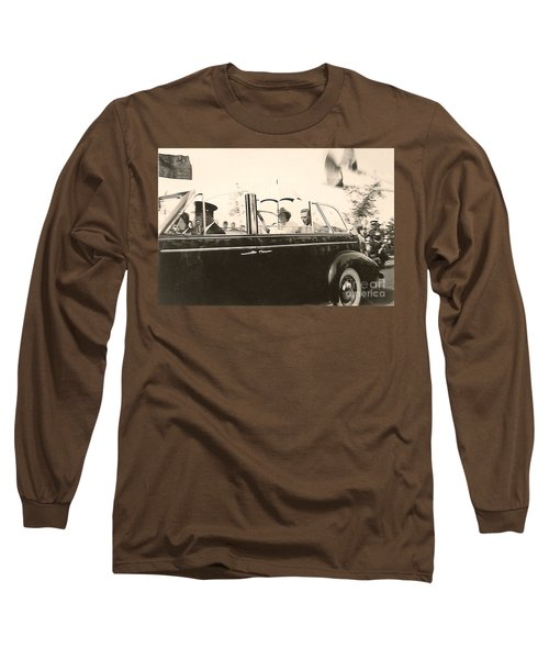 Queen Elizabeth And King George Vi Long Sleeve T-Shirt