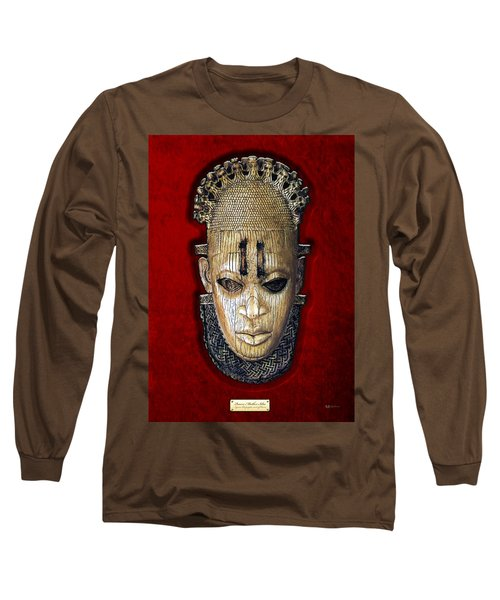 Queen Mother Idia - Ivory Hip Pendant Long Sleeve T-Shirt