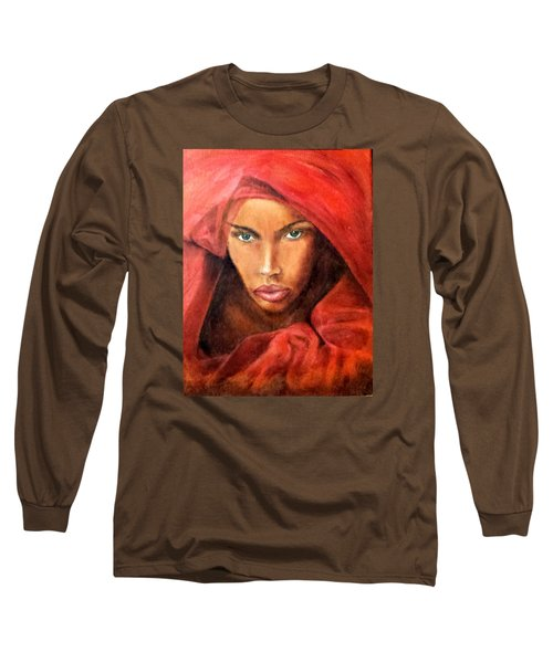 Queen No.10 Long Sleeve T-Shirt by G Cuffia