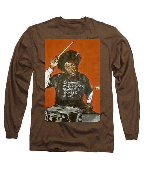 Questlove Long Sleeve T-Shirt