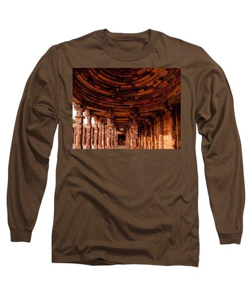 Qutub Minar Long Sleeve T-Shirt