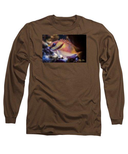 Rabbitfish Long Sleeve T-Shirt by Rikk Flohr