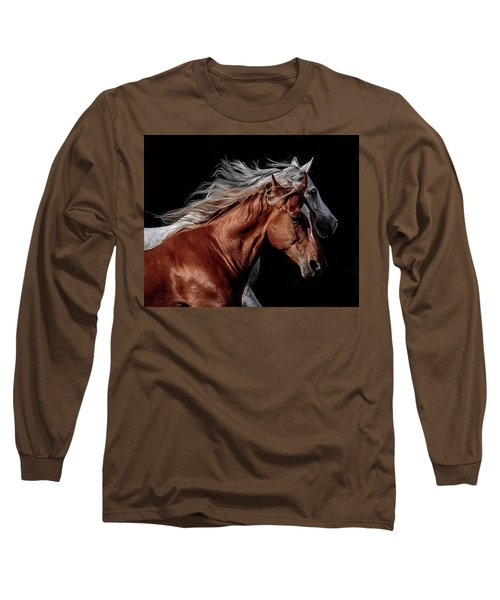 Racing With The Wind Long Sleeve T-Shirt