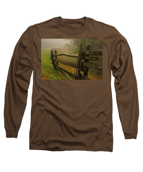Rails Of Time Long Sleeve T-Shirt by Dale R Carlson