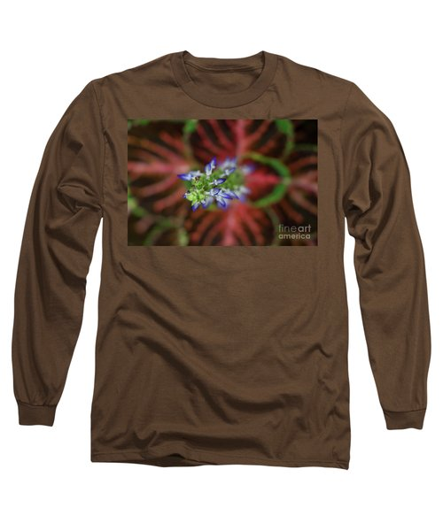 Rainbow Coleus Long Sleeve T-Shirt