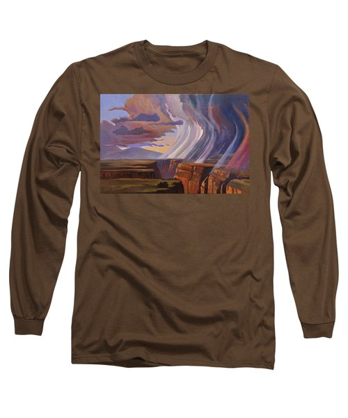 Rainbow Of Rain Long Sleeve T-Shirt