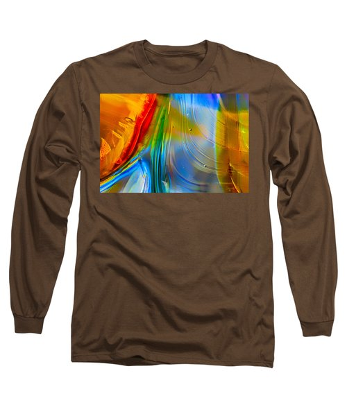 Long Sleeve T-Shirt featuring the photograph Rainbow Waterfalls by Omaste Witkowski