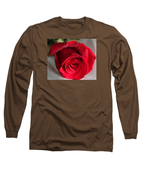 Raindrops On Roses Long Sleeve T-Shirt