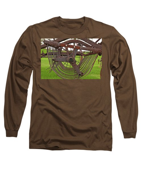 Long Sleeve T-Shirt featuring the photograph Rake 3118 by Guy Whiteley