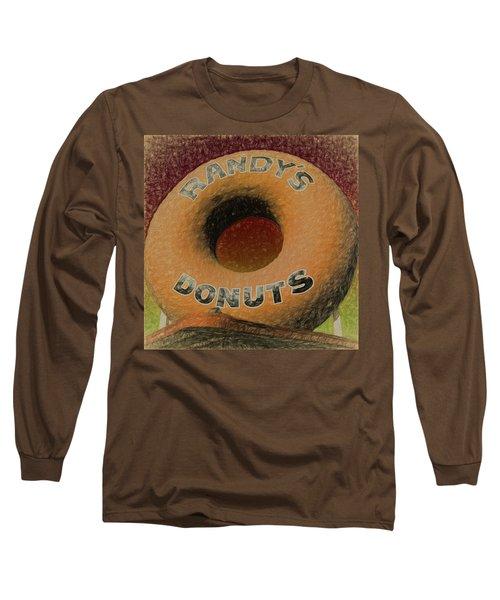Randy's Donuts - 7 Long Sleeve T-Shirt