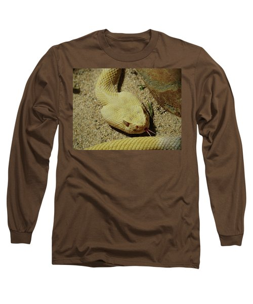 Rattlesnake Closeup Long Sleeve T-Shirt