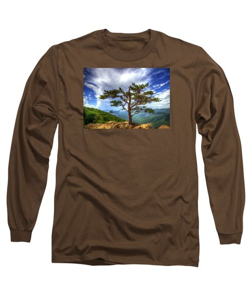 Ravens Roost Tree Long Sleeve T-Shirt by Greg Reed