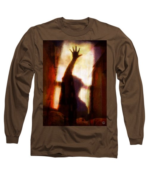 Long Sleeve T-Shirt featuring the digital art Reaching For The Light by Gun Legler