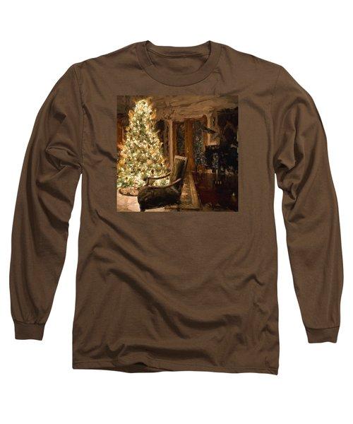 Ready For Christmas Long Sleeve T-Shirt by Cathy Jourdan