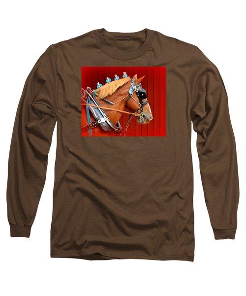 Ready To Pull Long Sleeve T-Shirt by Lori Seaman