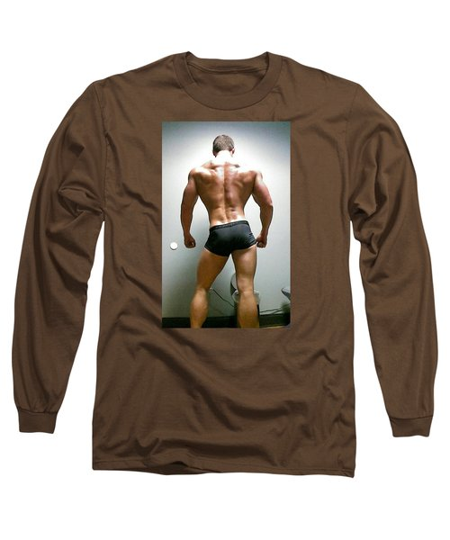 Long Sleeve T-Shirt featuring the photograph Rear View IIi by Jake Hartz