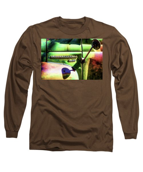Rear View Mirror Long Sleeve T-Shirt by Robert FERD Frank